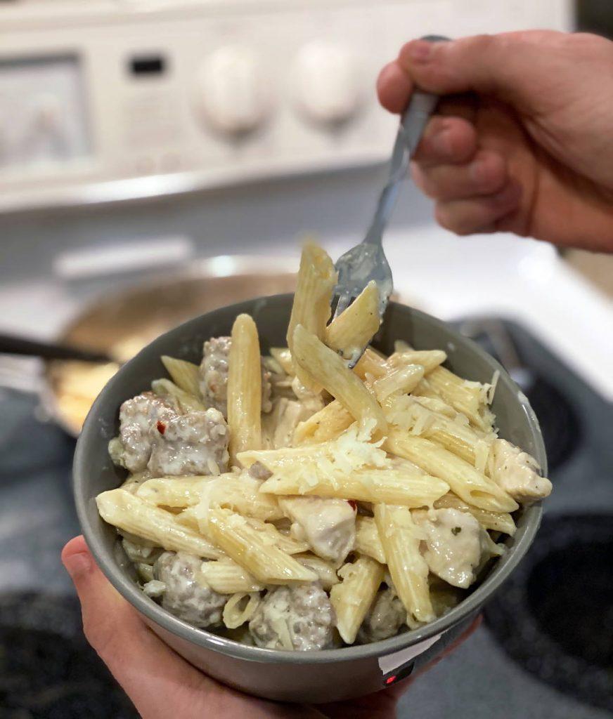 Cannabis Recipe - Cajun Chicken Pasta